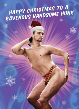 Happy Christmas to a Ravenous Handsome Hunk